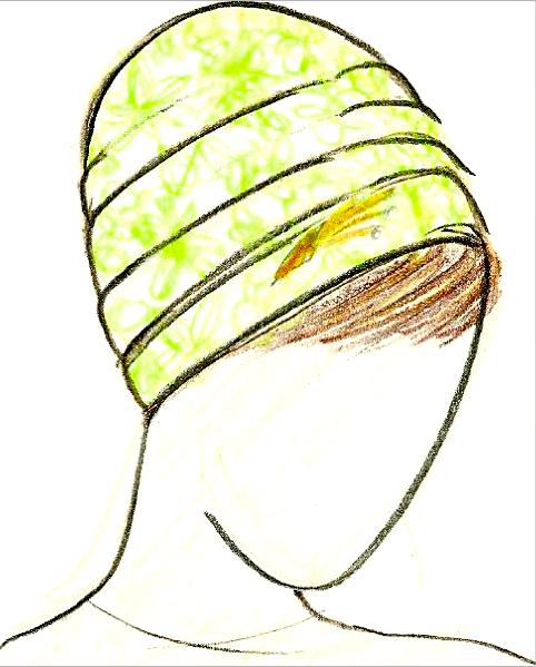 Whitegreenchiffon